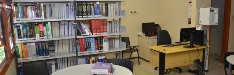 """Biblioteca Setorial Hospital de Clínicas """"Prof. Ivan Miranda Vieira"""""""