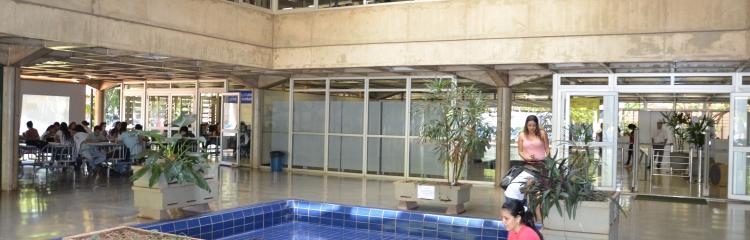 Recepção - Biblioteca Setorial Umuarama - UFU